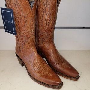 New LUCCHESE SAVANNAH N4540.74 Tan Goat Boots